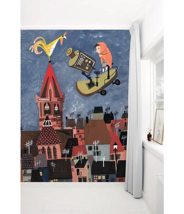 Kek-Amsterdam Night Flight Wallpaper