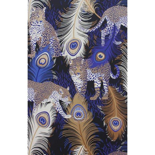 LEOPARDO Blue Brown White W6805-01
