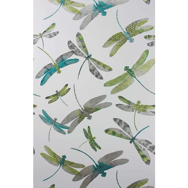 Dragonfly Dance Jade/Kiwi/Grey W6650-01