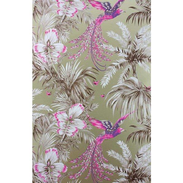 Bird of Paradise Fuchsia/Purple W6655-02