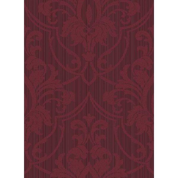ST. PETERSBURG DAMASK Rood Mat En Glans 88/8035