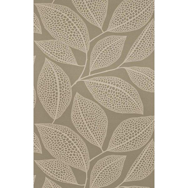 Behang Pebble Leaf grijs MISP1040
