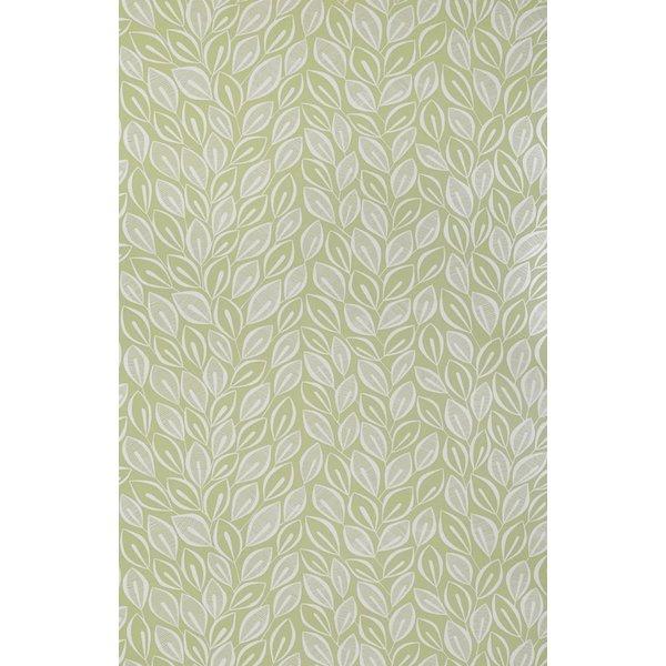 Behang Leaves groen MISP1031