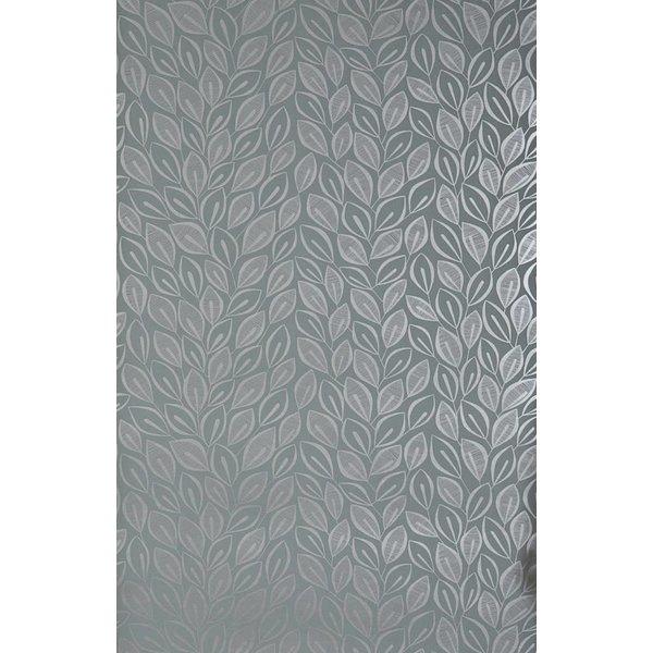 Behang Leaves grijs MISP1029