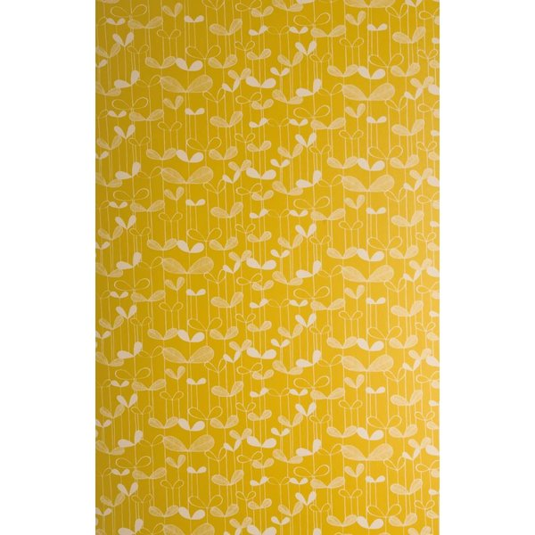 Behang Saplings geel MISP1009