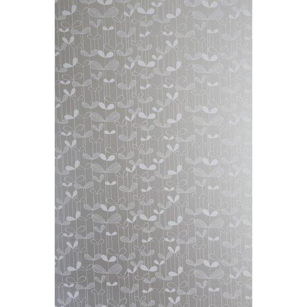 Behang Saplings zilver MISP1007