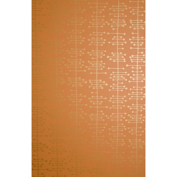 Behang Muscat small oranje MISP1003