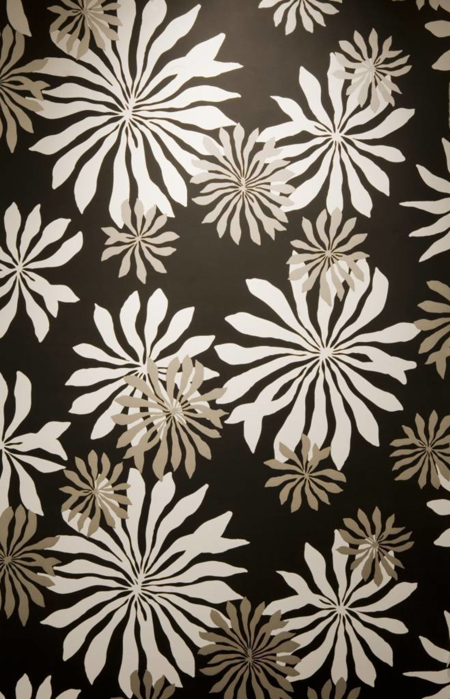 Miss Print Behang Fleur Zwart Misp1014 De Mooiste Muren