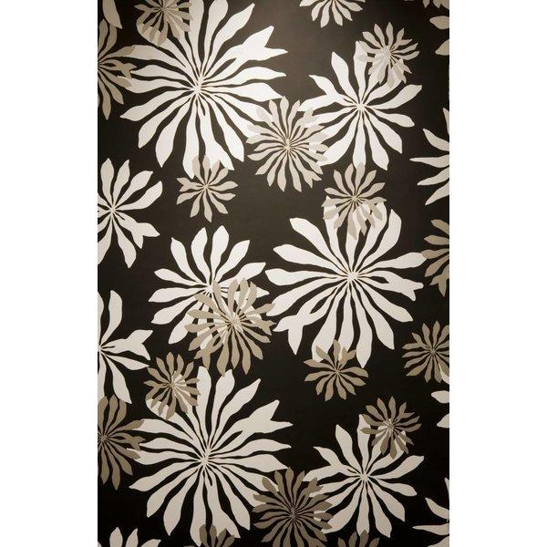 Behang Fleur zwart MISP1014
