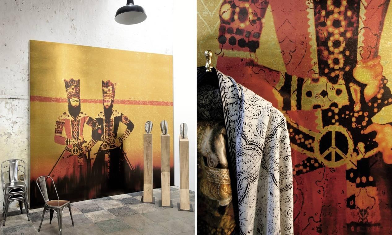 Muren komen tot leven met behang van Élitis