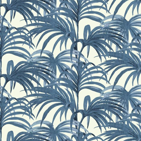 PALMERAL WALLPAPER OFF WHITE / AZURE H404-4_N