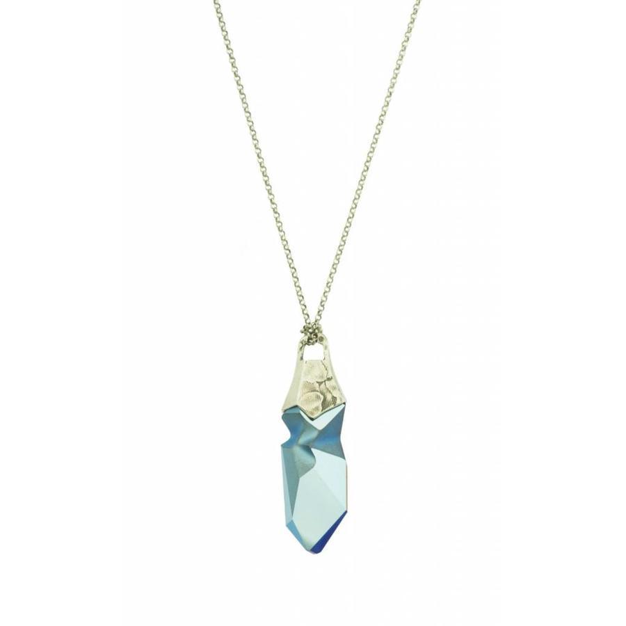 "Ketting ""art deco"" M2460 Swarovski kristal  by Jean Paul Gaultier-1"