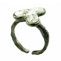 "Ring ""art deco"" M5501 Crystal"