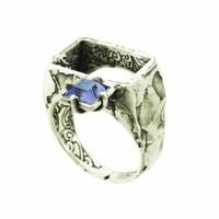 """Ring """"art deco"""" M5482 - Antique Tanzanite"""