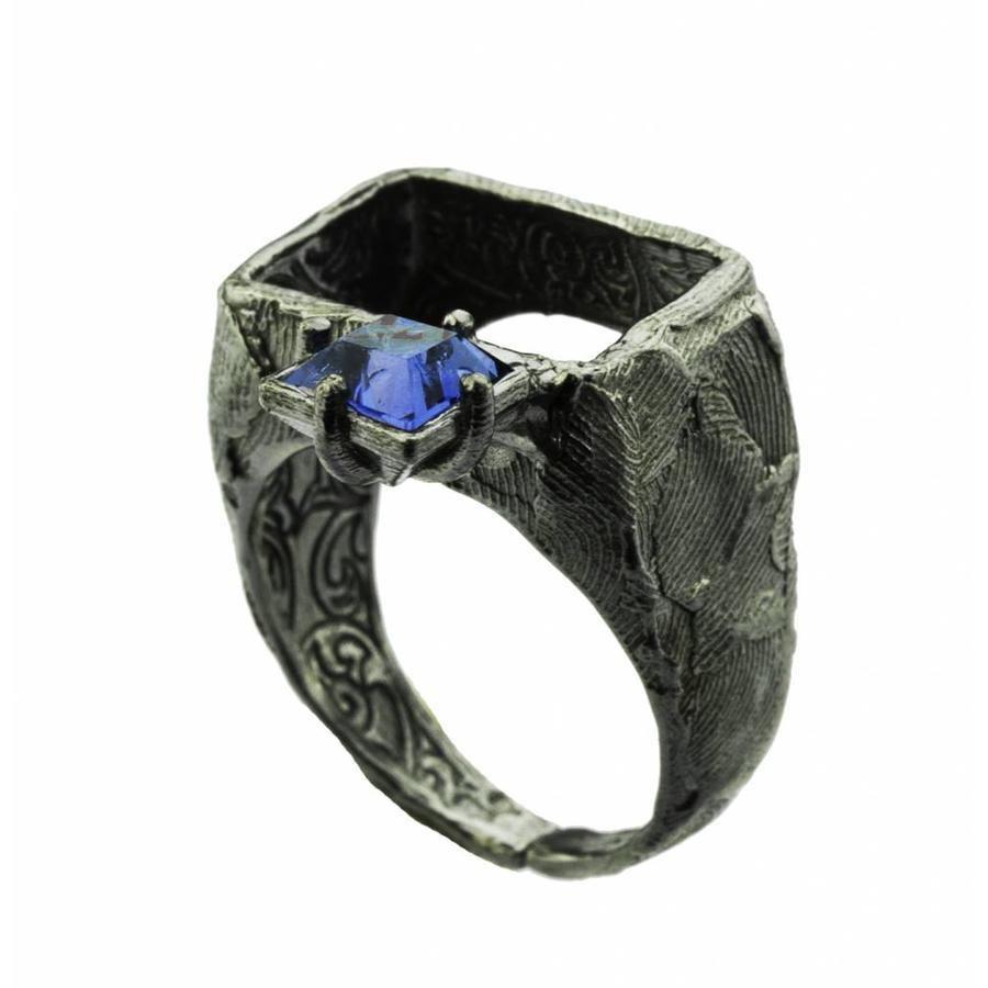 """Ring """"art deco"""" M5483 - Antique Tanzanite-1"""