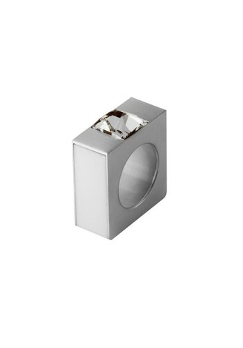 Ostrowski Design Ring Quadro wit