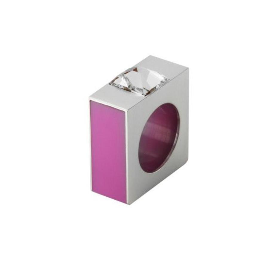 Ring Quadro roze-1