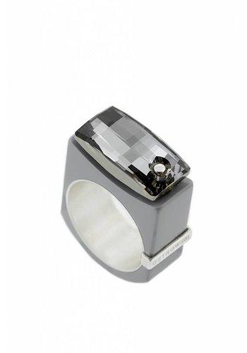Ostrowski Design Ring Chic licht grijs