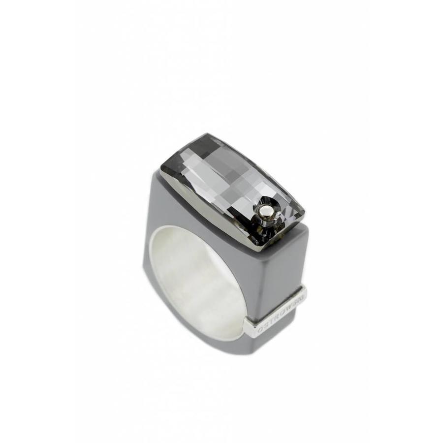 Ring Chic licht grijs-1