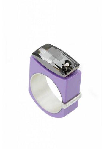 Ostrowski Design Ring Chic lila