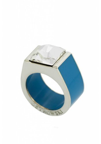 Ostrowski Design Ring Classic deep blue
