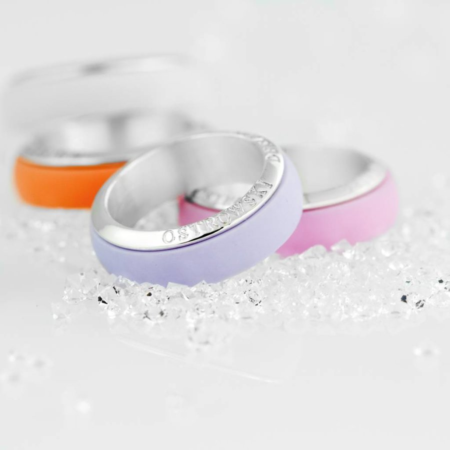 Ring Joy Line sweet roze - zilver-2