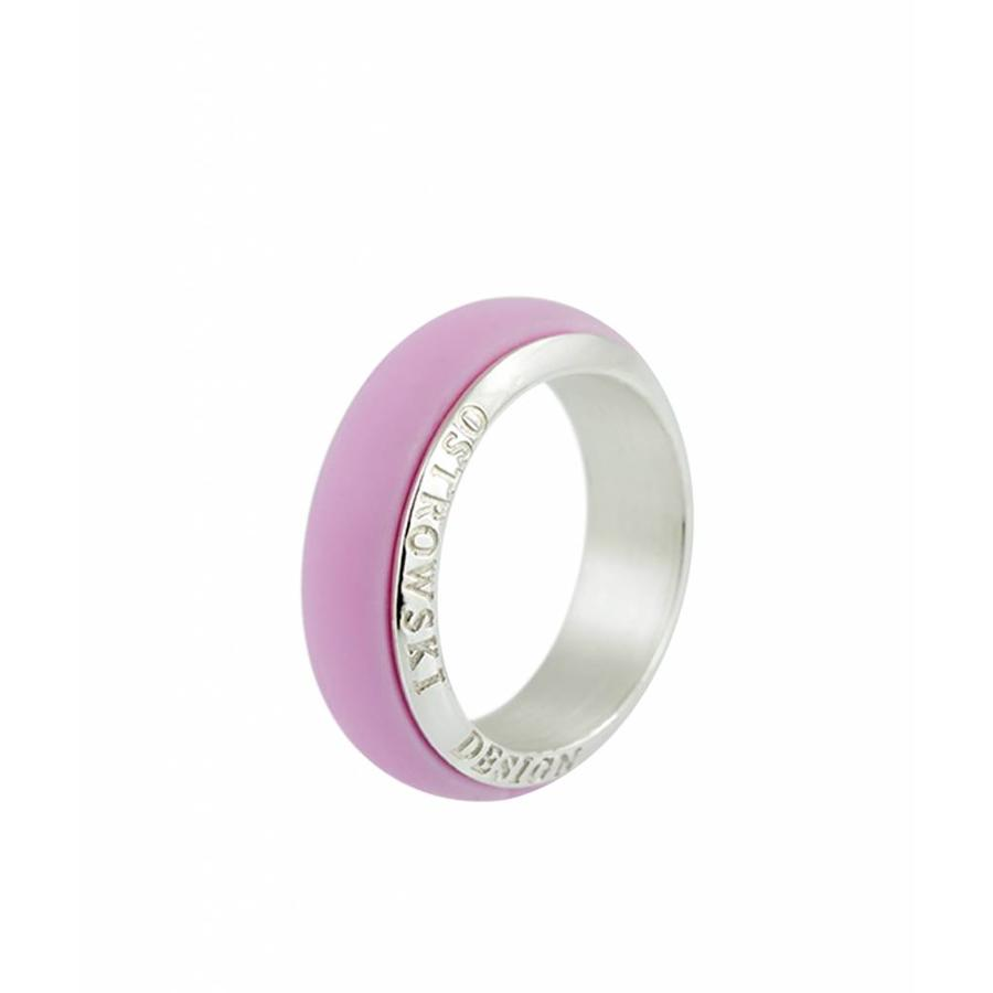 Ring Joy Line sweet roze - zilver-1