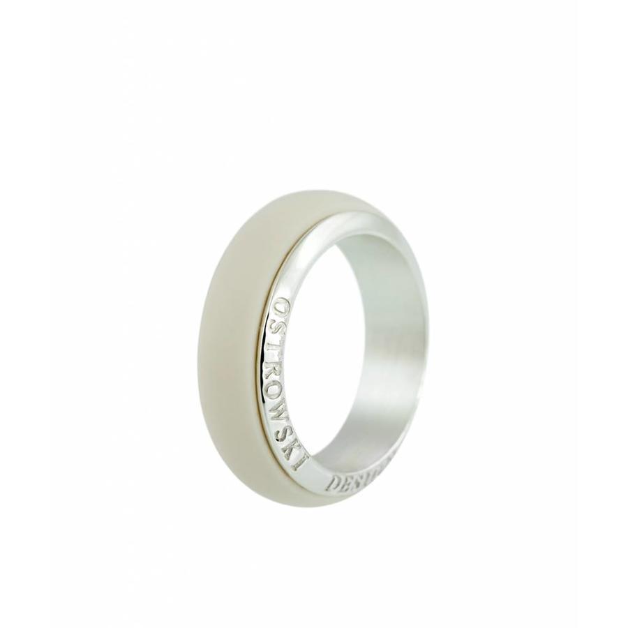 Ring Joy Line cappuccino - zilver-1