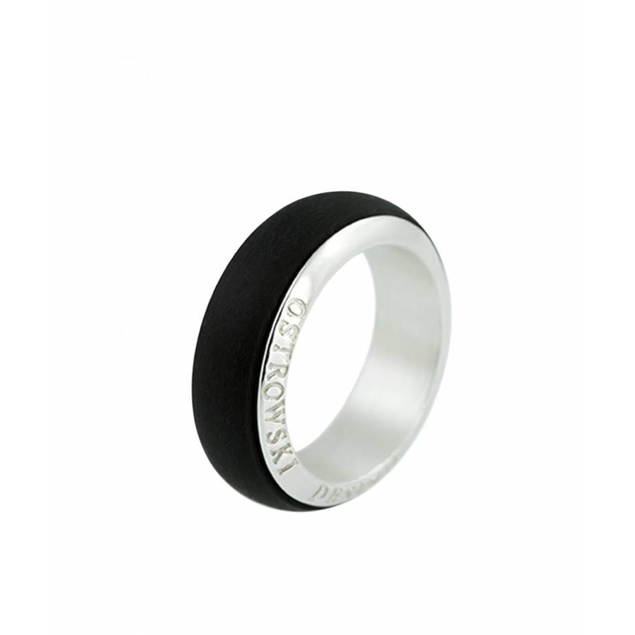 Ring Joy Line zwart - zilver-1
