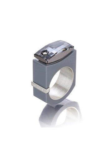 Ostrowski Design Ring Chic grijs