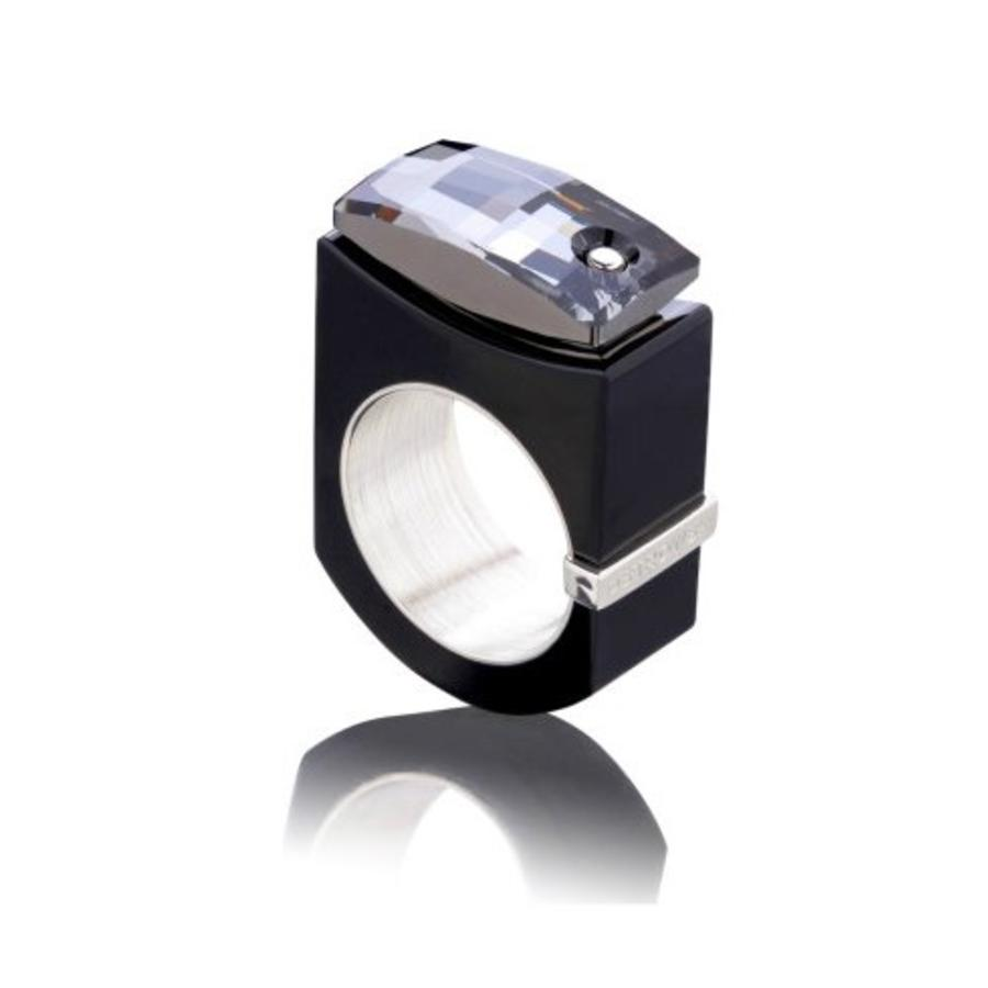Ring Chic zwart-1