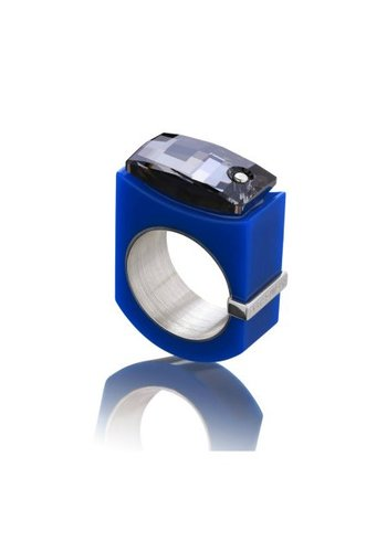 Ostrowski Design Ring Chic blauw