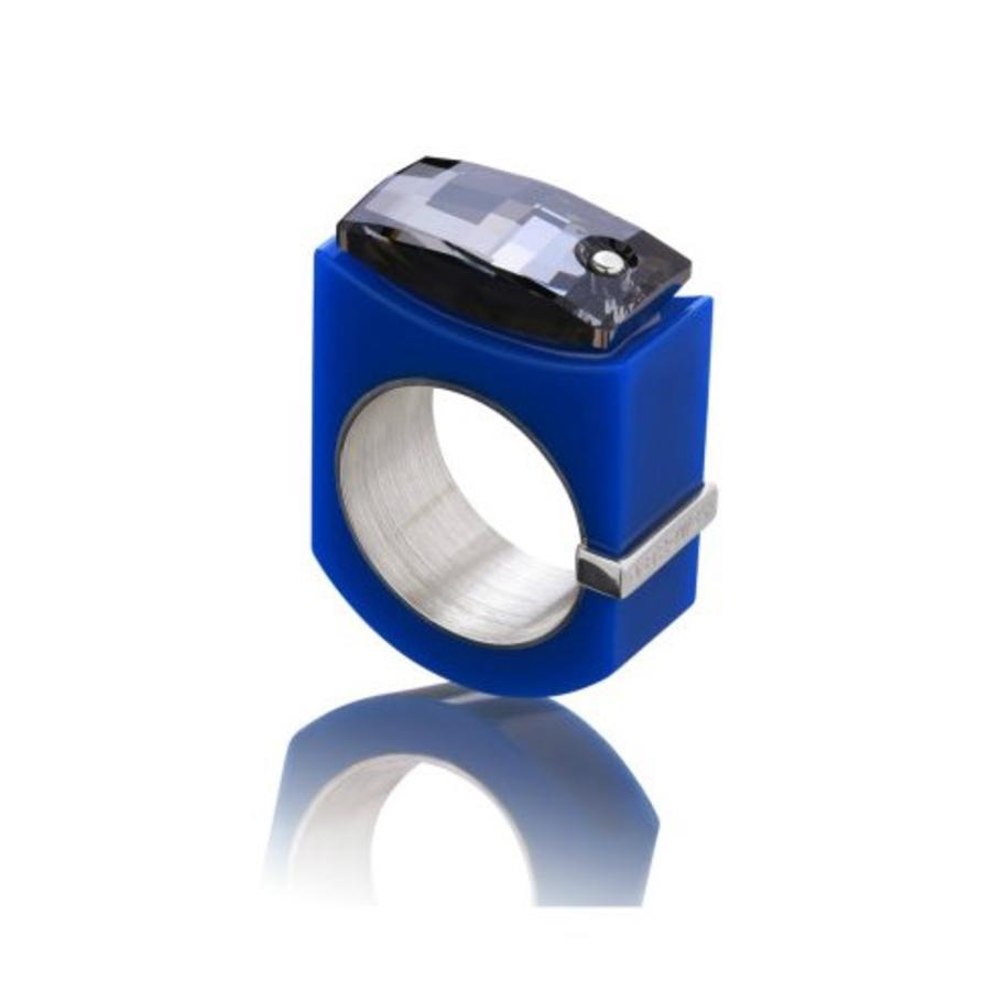 Ring Chic blauw-1