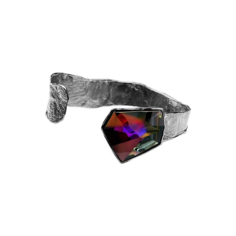 """Armband """"skin to skin""""M3448 met Swarovski kristal by Jean Paul Gaultier-1"""