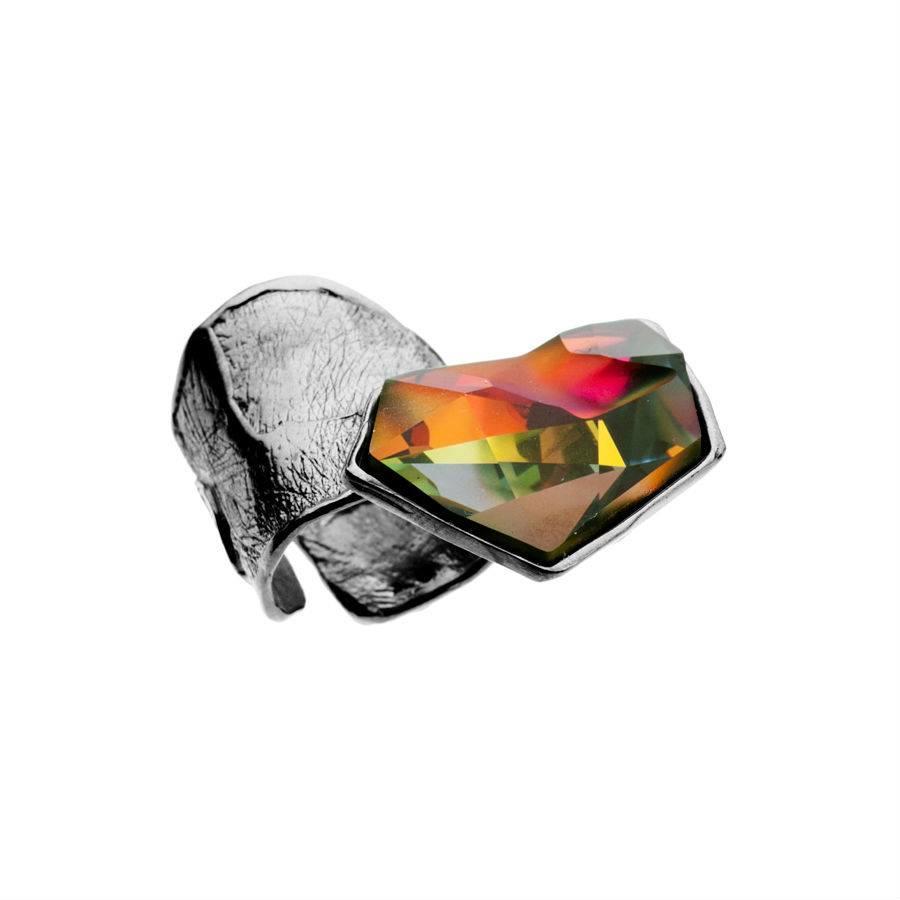"Ring ""skin to skin"" M5448 met Swarovski kristal by Jean Paul Gaultier-1"