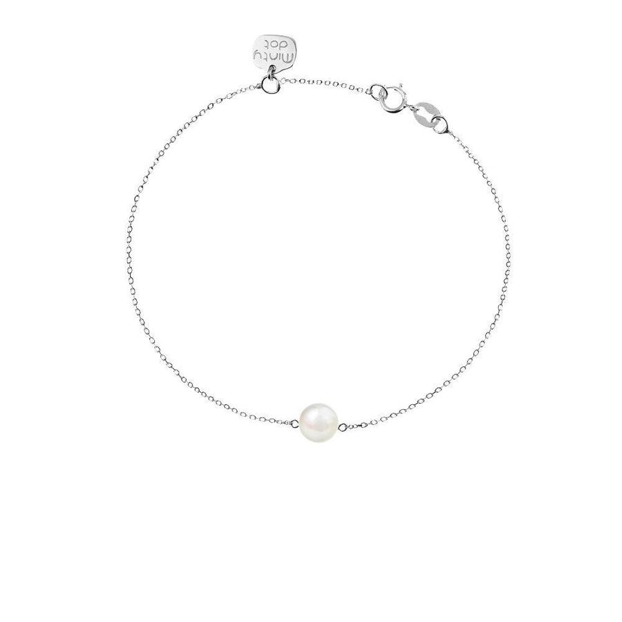 "Armband ""natural"" My precious pearl - zilver-1"