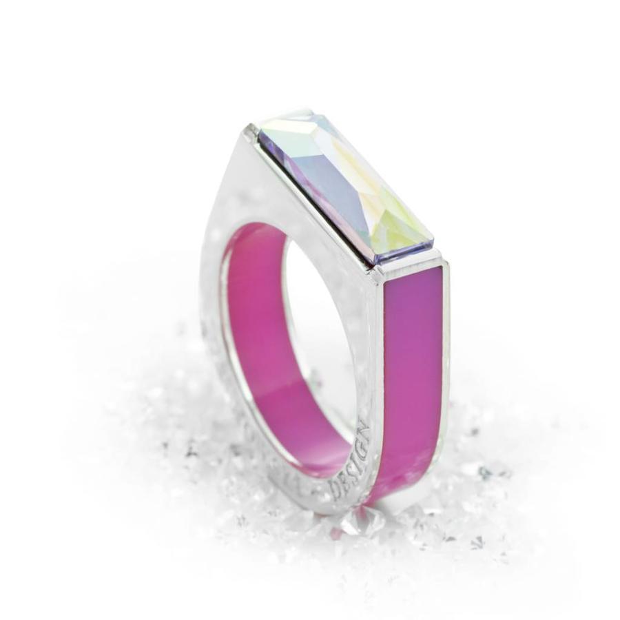Ring Classic Light sweet roze - zilver-1