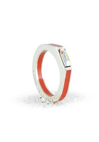 Ostrowski Design Ring Classic Super Light koraal