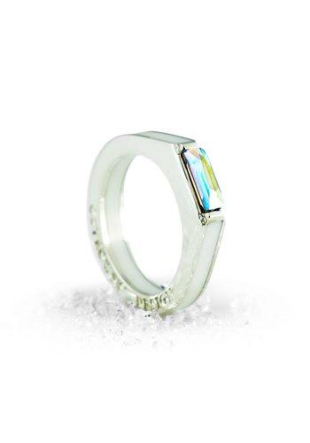 Ostrowski Design Ring Classic Super Light wit