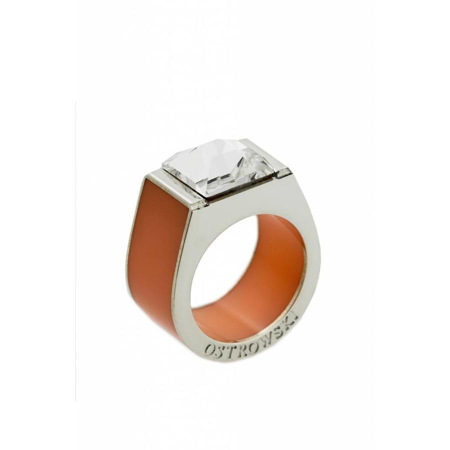 Ring Classic pastel oranje-1