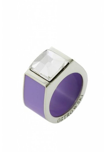 Ostrowski Design Ring Classic lila