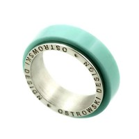 thumb-Ring Joy Line mint - zilver-3