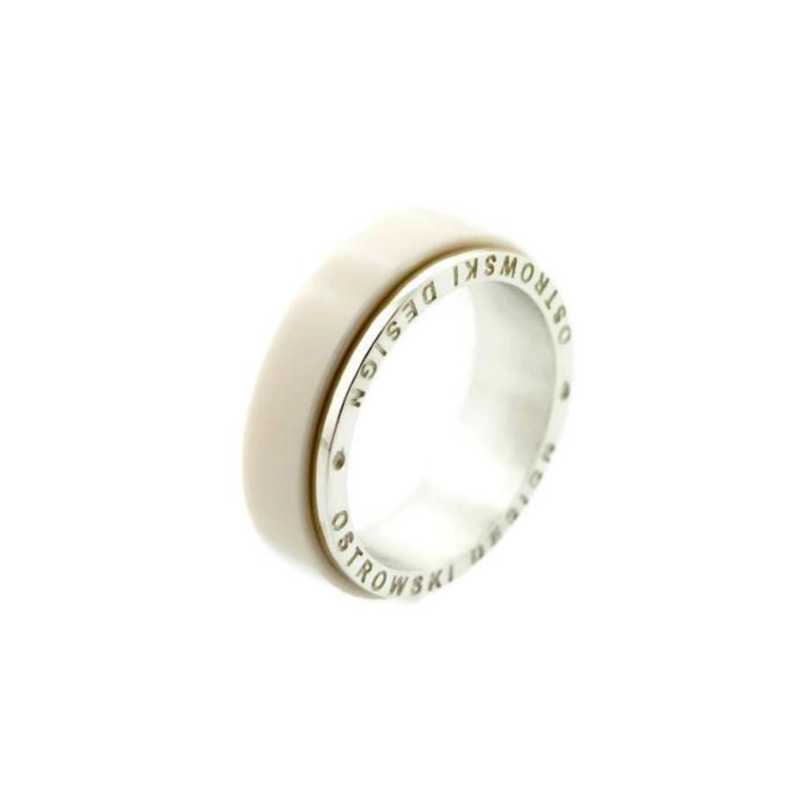 Ring Joy Line cappuccino - zilver-3