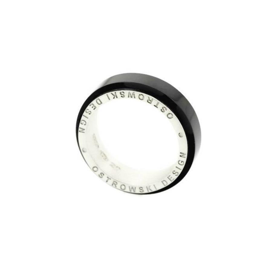 Ring Joy Line zwart - zilver-2