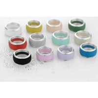 thumb-Ring Joy Line max koraal - zilver-2