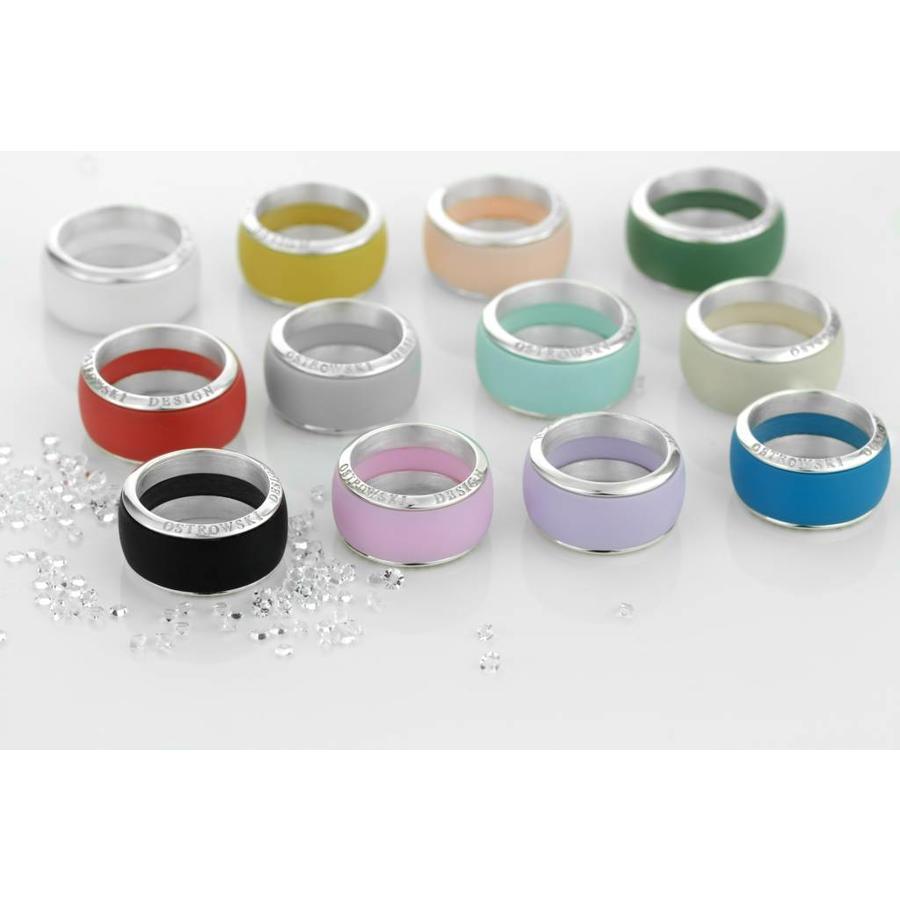Ring Joy Line max koraal - zilver-2