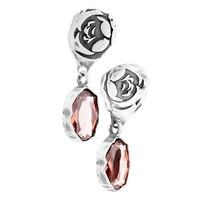 "Oorbellen ""moroccan rose"" MS4520 Blush Rose"