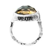 """Ring """"treasure island"""" M5409 honing kwarts"""