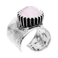 """Ring """"treasure island"""" M5435 rozekwarts"""