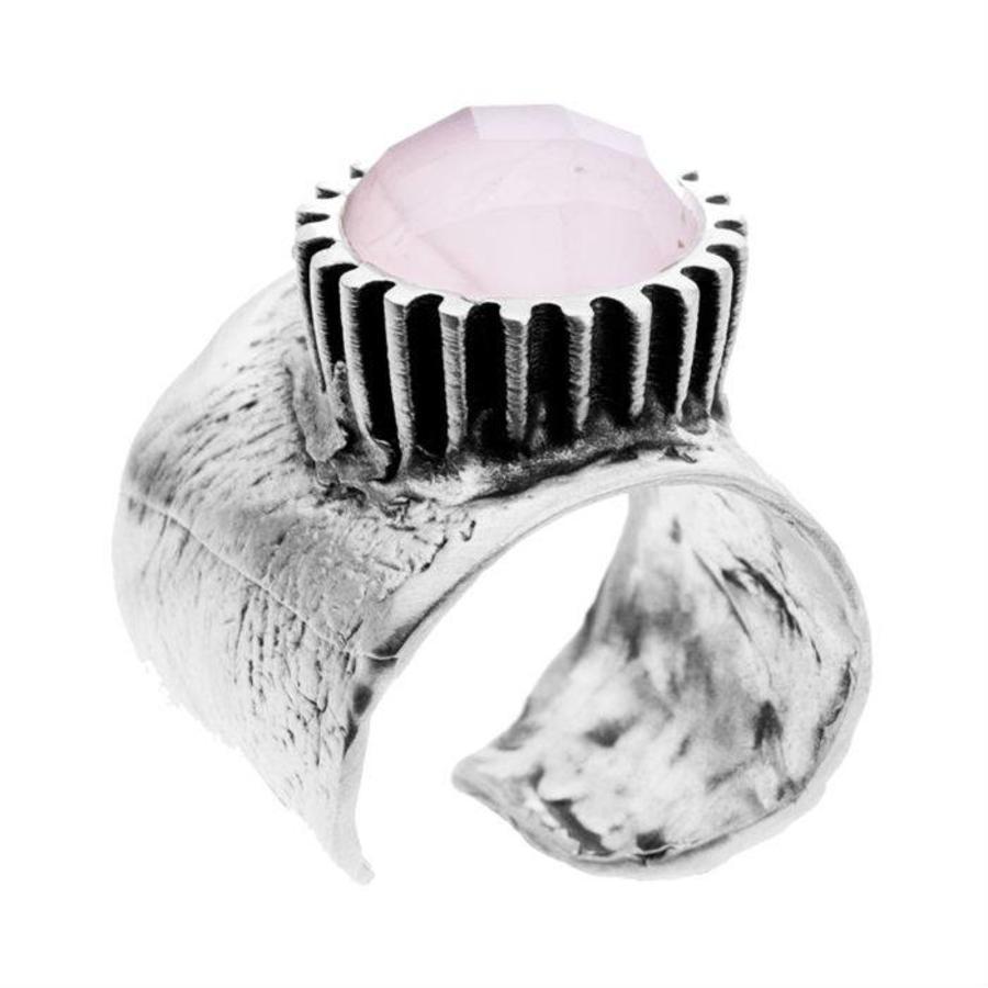 """Ring """"treasure island"""" M5435 rozekwarts-1"""